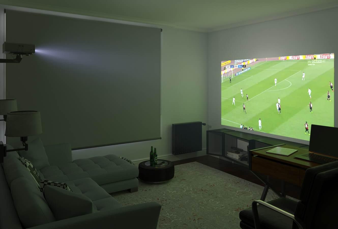 Sala de ocio 3D estilo moderno